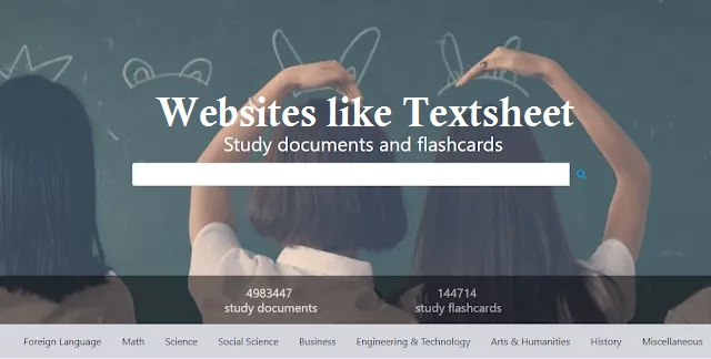 Best alternative websites like Textsheet in 2019