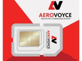 Aerovoyce SIM card plans