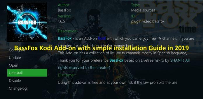 Bassfox add-on 2019