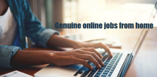 Genuine online jobs from home