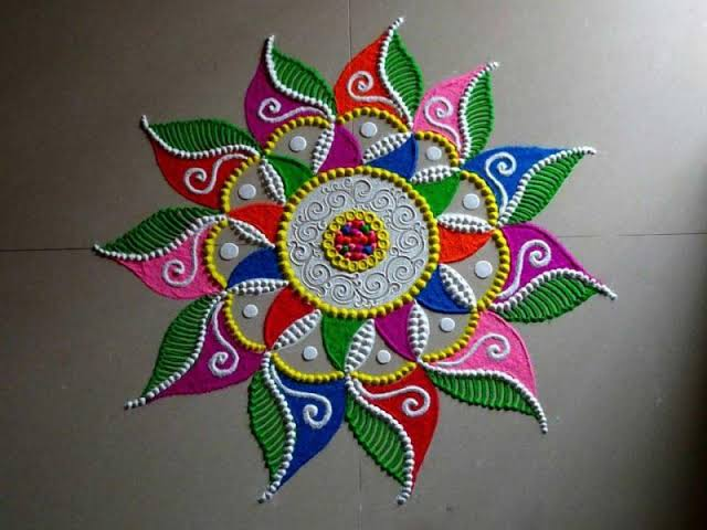 Happy New Year Kolam download
