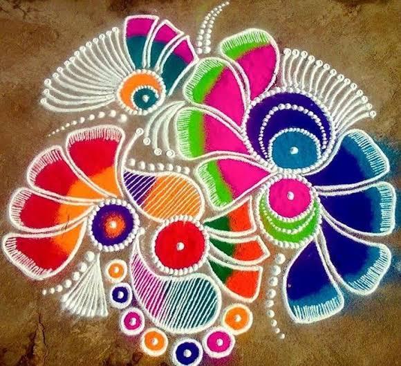 Image Happy New Year Kolam
