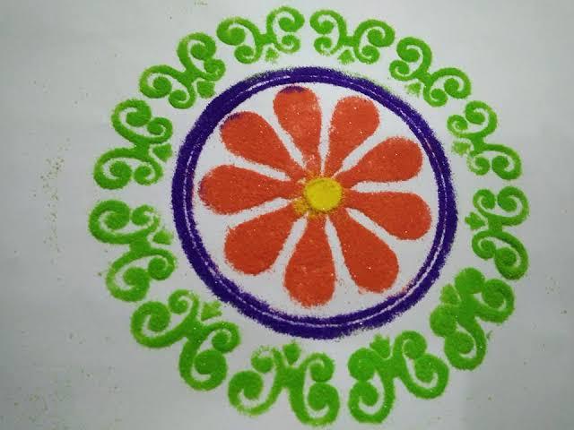 Happy New Year Kolam 21