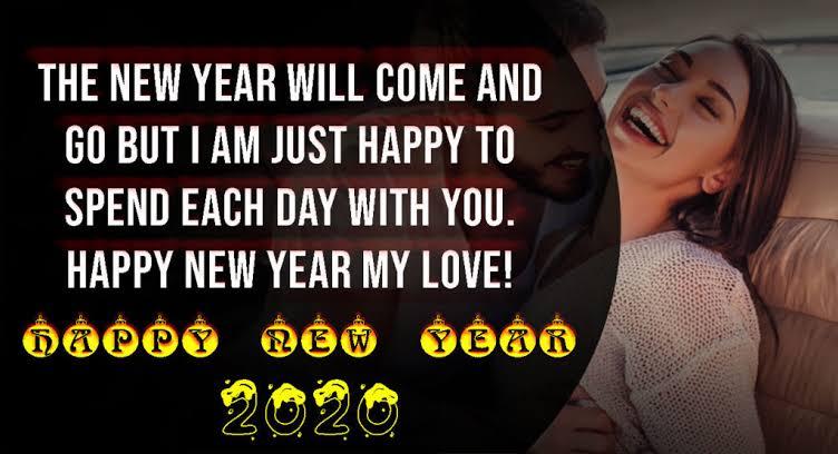best 2020 Happy New Year Whatsapp Status for Girlfriend