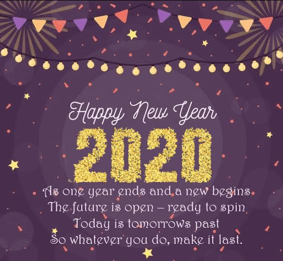 2020 Happy New Year Whatsapp Status for Girlfriend wishes