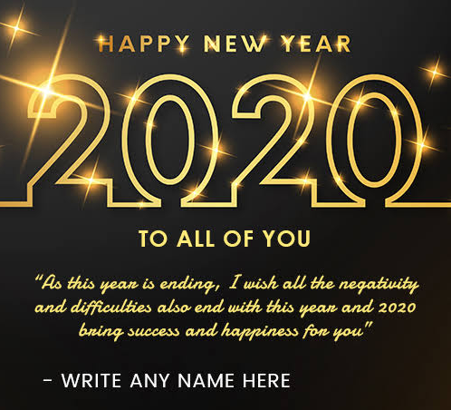 New year video maker 2020