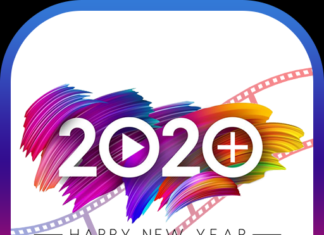 Happy new year video maker 2020