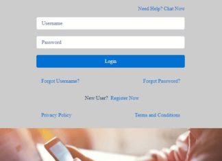 Loan administration login