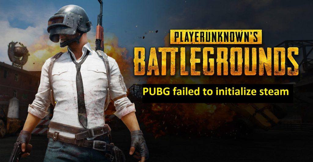 PUBG failed to initialize steam fix