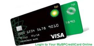 Mybpcreditcard login