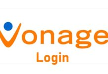 Vonage login process