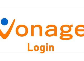 Vonage login process