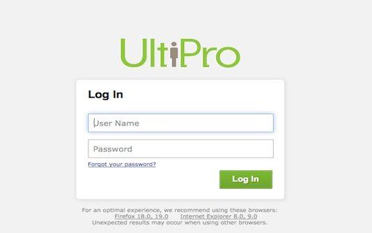 N32 Ultipro login