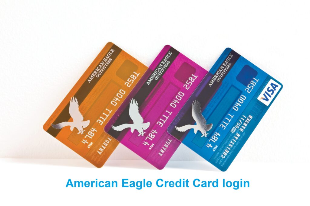 American Eagle Credit Card login process