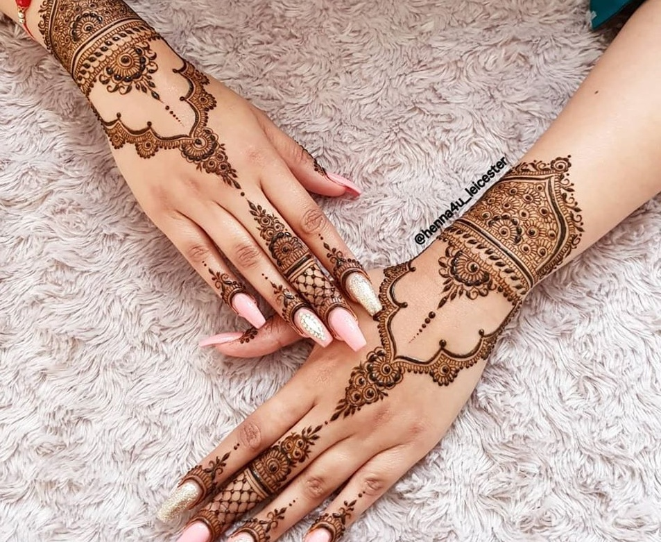 Arabic design mehandi