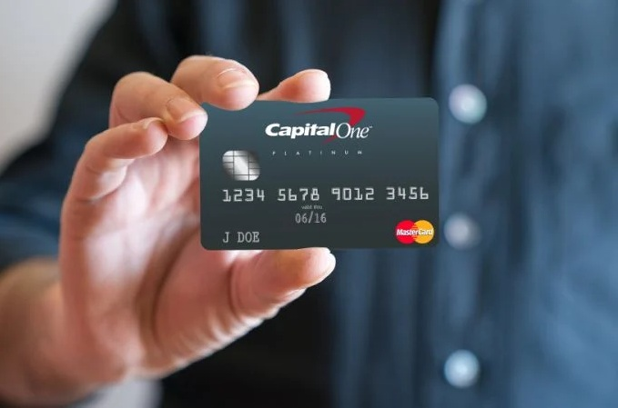 Capital one Credit Card Online process