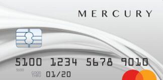mercury credit card login process